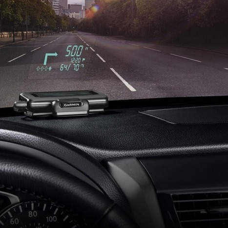 Garmin's Portable Head-Up Display Adds a High-Tech Touch to Cars | Hector's IT Stuff | Scoop.it