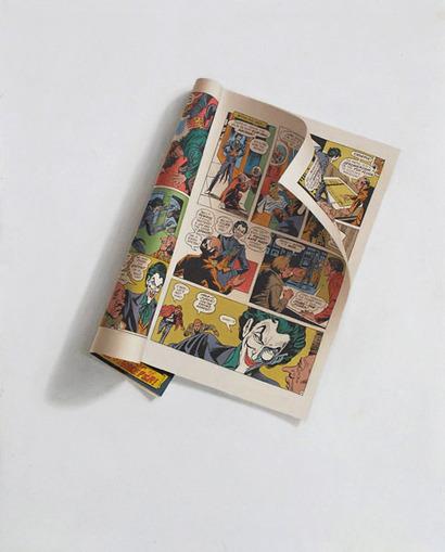 Comic book painting | Art, photography, design, tech, culture & fashion | Scoop.it