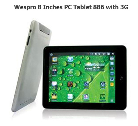 Auction: Wespro PC Tablet | Mybids | Scoop.it