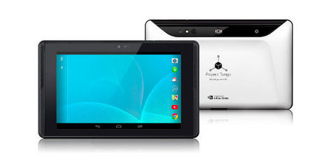 Google Unveils Project Tango Tablet Development Kit Powered by Nvidia Tegra K1 SoC | Embedded Systems News | Scoop.it