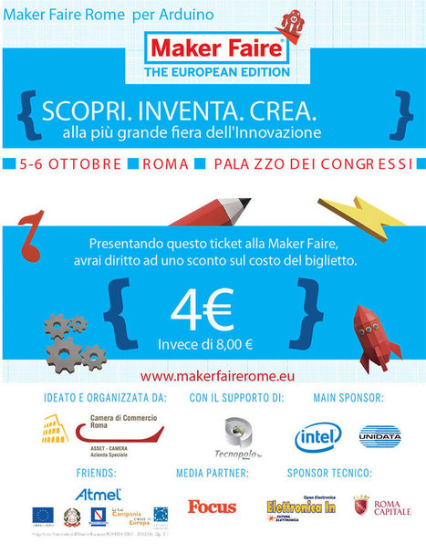 Come and join Arduino at Maker Faire Rome   Raspberry Pi   Scoop.it