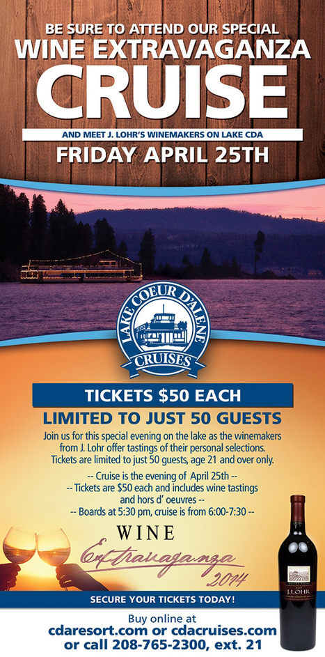 Latest Updates About Coeur d Alene Lake Cruise | Lake Coeur d Alene Cruise | Scoop.it