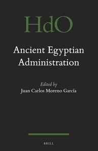 """""""Ancient Egyptian administration"""" 