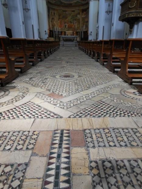 What to see in Umbria, Italy | Spoleto Duomo Cosmatesque Floor | Italia Mia | Scoop.it
