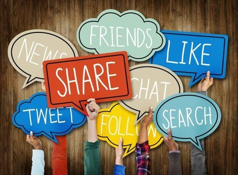 12 Golden Social Media Rules For eLearning Professionals | elearning stuff | Scoop.it