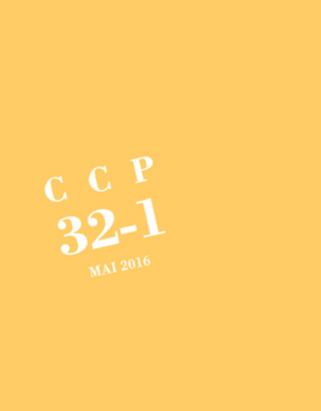 (parution) cipM - : CCP 32-1 | Poezibao | Scoop.it