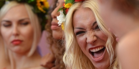 Caroline, Inna et les Femen : une éducation sentimentale - Le Nouvel Observateur | Récupérer son ex | Scoop.it