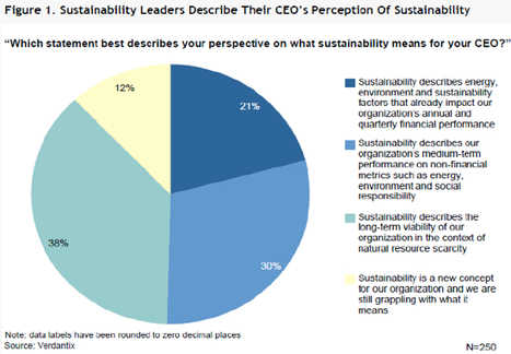 Sustainability a 'New Concept' for 12% of CEOs - Study | Développement durable et efficacité énergétique | Scoop.it