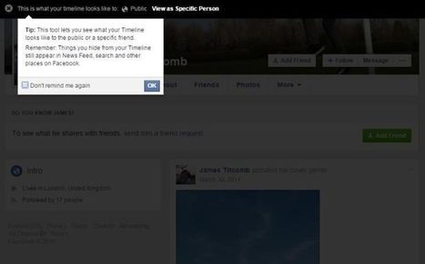 How to manage your security settings on Facebook via  James Titcomb | Blogs | Scoop.it