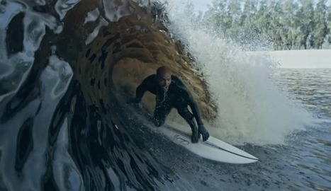 Did Kelly Slater Just Create the World's Greatest Artificial Wave? | science and tech | Scoop.it