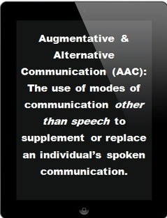 adapted innovation: The Break Down of AAC by Andrea Schario | Parenting Children who are Blind or Visually Impaired | Scoop.it