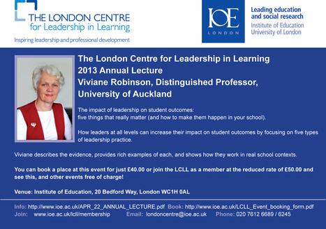 Dimensions of an effective leader | Educational Leadership | Scoop.it