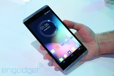 The 6.8-inch Hisense X1 smartphone is basically a tablet and it's coming to ... - Engadget | Mobitech Best Reviews | Scoop.it