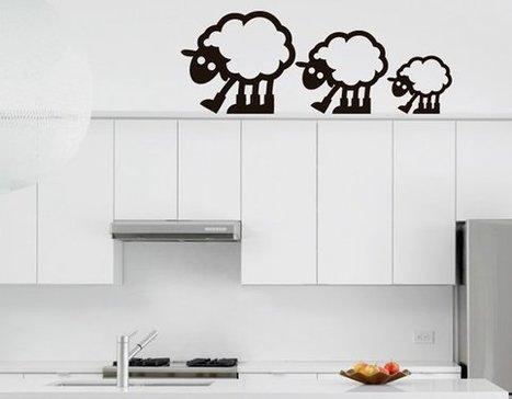Vinilos para Decoración de Interiores sobre animales   Diseños De Interiores   Scoop.it