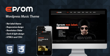 EPROM - WordPress Music Theme ( Free Download ) | EPROM - WordPress Music Theme ( Free Download ) | Scoop.it