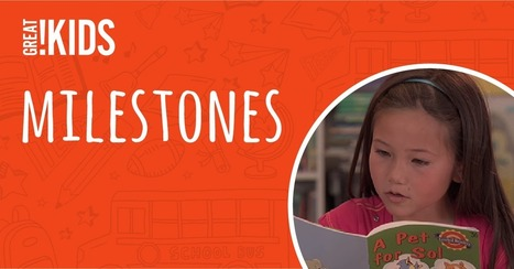 Milestones: Is your child on track in school? | GreatKids : Milestones | HCS Learning Commons Newsletter | Scoop.it