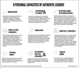 9 Personal Capacities of AuthenticLeaders | Sustainable Futures | Scoop.it