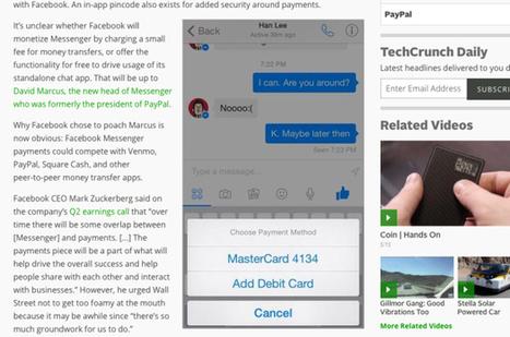 Facebook Messenger pourrait permettre le transfert d'argent   Moyens de paiement   Scoop.it