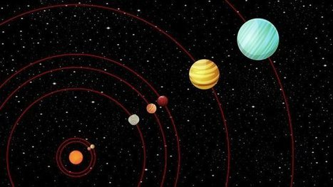 Kepler-90: A planetary system like our own | Astronomy | Scoop.it