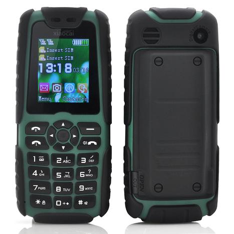 Xiaocai X6 Phone + Power Bank (5000mAh, Green) | cool electronics gadgets | Scoop.it