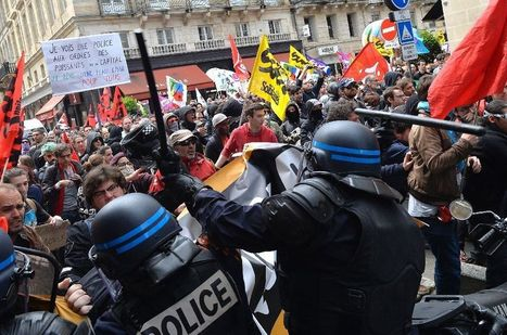 Clashes as France gripped by fresh wave of strikes | Econopoli | Scoop.it