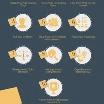 10 Ways to Boost Employee Morale | Visual.ly | Great Advice For Career and Leadership | Scoop.it
