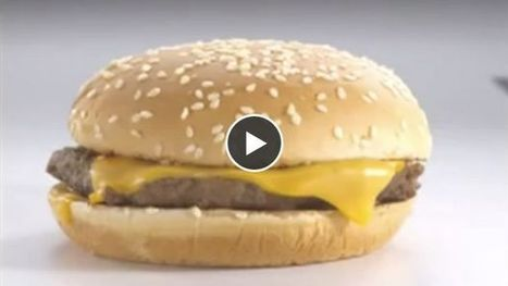 Comment sont préparés les hamburgers des pubs pour fast-food ? - Ohmymag | publicité | Scoop.it