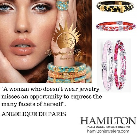 Luxury Jewelry- Current Trends ANGELIQUE DE PARIS Jewelry Designer - Artisan Style | All Things New Jersey | Scoop.it