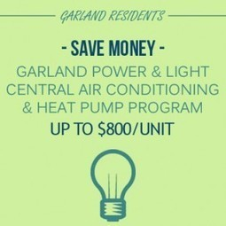 Garland Power & Light EnergySaver Program - Max Mechanical | Air Conditioning & Heating Tips | Scoop.it