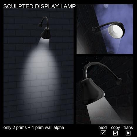 Display Lamp Light by TELSA | Teleport Hub | Second Life Freebies | Scoop.it