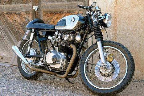 Honda CB450 K1 resto-mod   Moto GP   Scoop.it