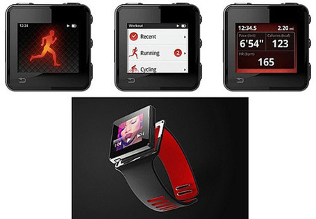 Un hybride entre l'iPod nano et la Nike+ SportWatch chez Motorola ? | News du Geek | Scoop.it