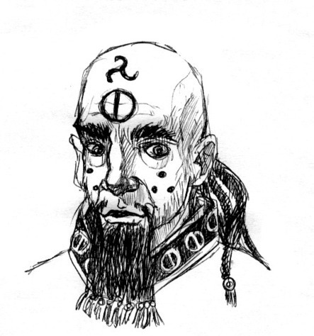 And now for some Glorantha! A sorcerer or priest of the Lunar... | Glorantha News | Scoop.it