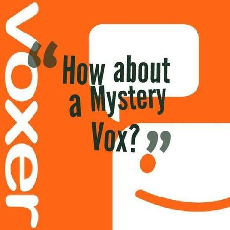 How About a Mystery Vox? | idevices for special needs | Scoop.it