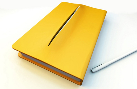 Notebook with Pen Holder by Teo Song Wei   Art, Design & Technology   Scoop.it