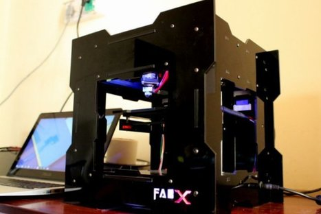 India's 3D-ing Releases $325 FabX 3D Printer | 3D Virtual-Real Worlds: Ed Tech | Scoop.it