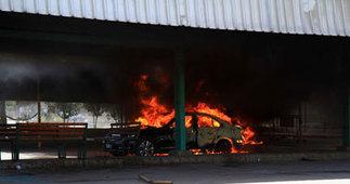 حرق سيارة مدير مستشفى ميت غمر بسبب دبوس رابعة | جريدة المسار | Scoop.it
