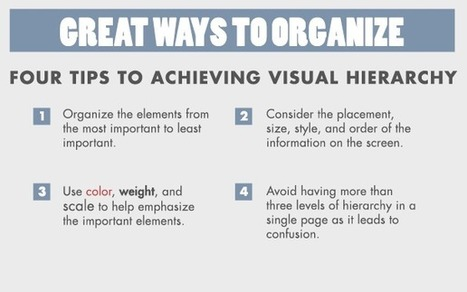 Six Tips to Make Your Visual Design Support Your Content by Crystal  Rose : Learning Solutions Magazine | elearning stuff | Scoop.it