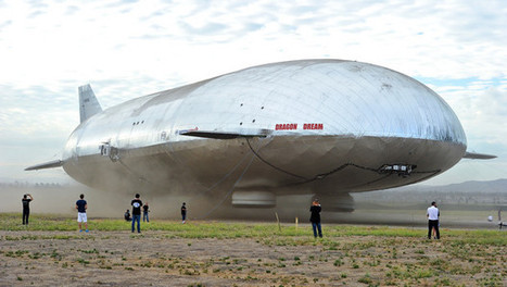 Zeppelins Seen Hauling Caterpillars to Mine Siberia | Energy: Past, present and future | Scoop.it