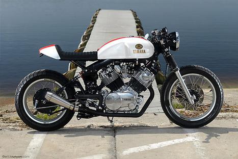 '82 Yamaha XV920 – Hageman Motorcycles | custom cafe racer | Scoop.it