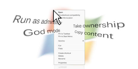 10 Best Shortcuts To Add To Your Right-Click Menu | Time to Learn | Scoop.it