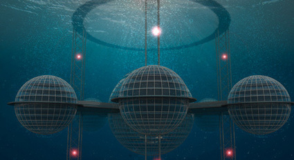 Sustainable Floating Cities Designed for a Post-Apocalyptic World | Sustainable Futures | Scoop.it