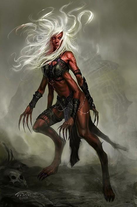 Lamashtu, La-maš-tu, Dimme, Demon Queen, the Mother of Beasts, the Demon Mother   Mesopotamia   Scoop.it