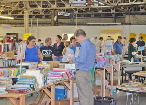 Greeneville-Greene County Public Library's annual book sale was Saturday, May 4 - The Greeneville Sun | Tennessee Libraries | Scoop.it