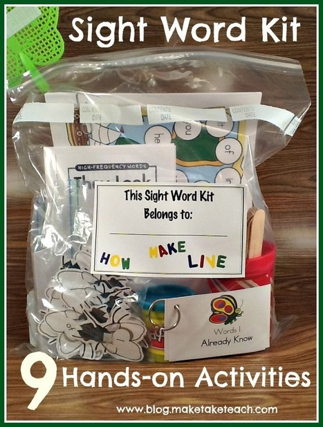 Teaching Sight Words   Make, Take & Teach   Sight Words teaching and Learning Games   Scoop.it
