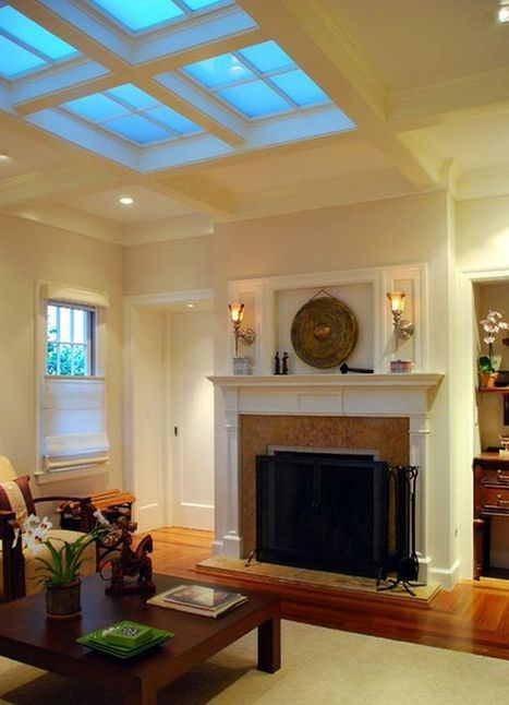 30 Inspirational Ideas for Living Rooms with Skylights | PPM AG - Darlings in Interiors | Scoop.it