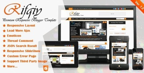 Rifqiy v1.10 – Responsive Blogger Template Free Downlaod | All About Things, SEO, Web Desgining  and Wordpress | Scoop.it
