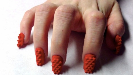 3D printed nails let you look like Molly from Neuromancer | 3D Printing and Fabbing | Scoop.it