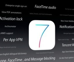 iOS 7 to launch with FaceTime voice calls | Mobile (Post-PC) in Higher Education | Scoop.it