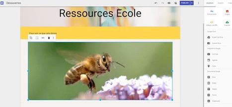 Google Site est désormais accessible en France | Ressources Ecole | Scoop.it